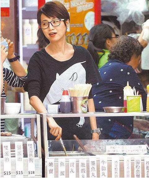 Bất ngờ vì người đẹp Hồng Kông bán hàng vỉa hè - 3