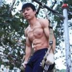 Thể thao - Nghệ sỹ thể dục đường phố trổ tài ở Hà Nội