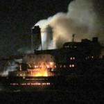 Tin tức trong ngày - Tàu chở đoàn cán bộ cháy dữ dội trên biển Bạc Liêu