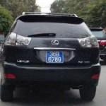 """Tin tức trong ngày - Thanh Hóa: Xôn xao 2 ôtô có cùng """"biển xanh VIP"""""""