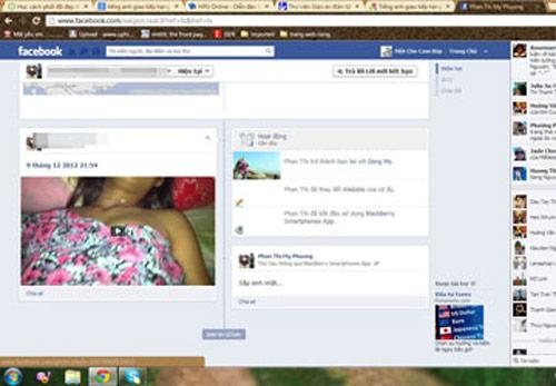 Bị chia tay, tung clip sex với bạn gái lên Fb để trả thù - 1