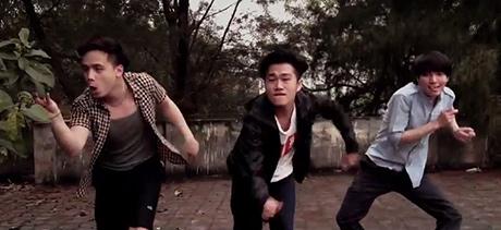 Giới trẻ Hà Nội sôi động cùng điệu nhảy Happy