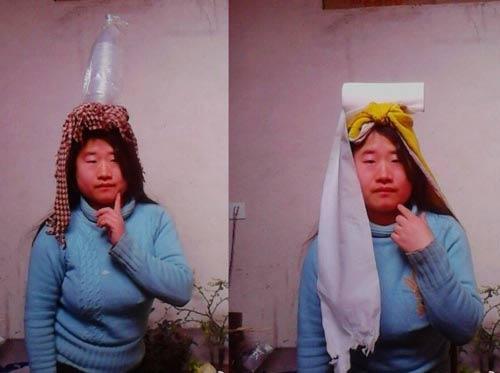 """""""Tiên nữ"""" Trung Quốc nổi tiếng vì đeo rác lên người - 6"""