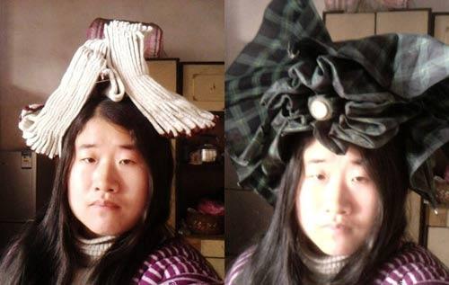 """""""Tiên nữ"""" Trung Quốc nổi tiếng vì đeo rác lên người - 7"""
