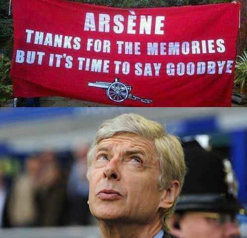 5 cú đấm cho Arsene Wenger - 1