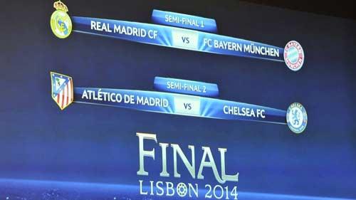 Real, Bayern, Chelsea tự tin vào chung kết - 1