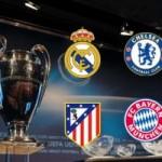 Bóng đá - Bán kết Cúp C1: Real - Bayern, Atletico - Chelsea