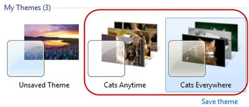 Giao diện Windows dành cho người yêu Mèo - 3
