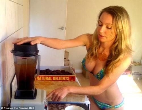 """""""Choáng"""" vì bà mẹ ăn 51 quả chuối mỗi ngày để giảm cân - 4"""