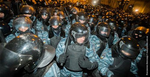 Ukraine: Đặc nhiệm Alfa từ chối đàn áp biểu tình - 1