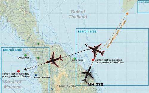 Vì sao chiến đấu cơ Malaysia không chặn MH370? - 2