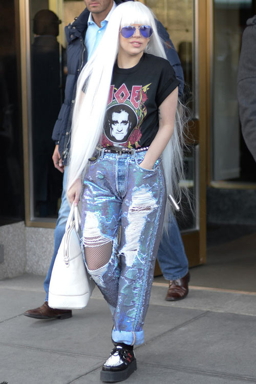 Học lỏm sao Hollywood mặc jeans rách ngày hè! - 11