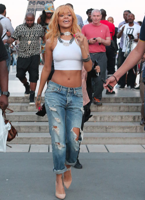 Học lỏm sao Hollywood mặc jeans rách ngày hè! - 2