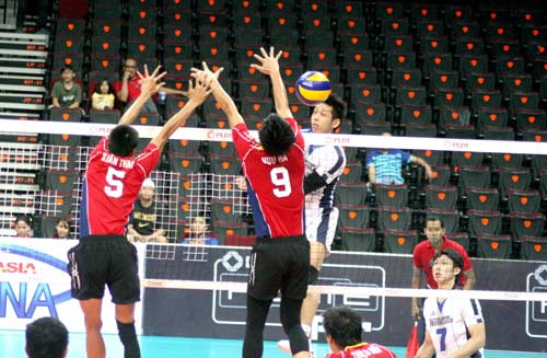 Giải bóng chuyền các CLB nam châu Á: Đức Long Gia Lai thua vì ngoại binh - 1