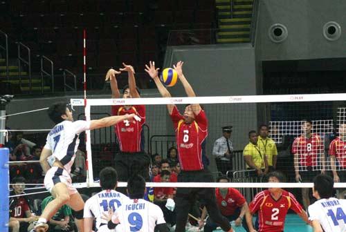 Giải bóng chuyền các CLB nam châu Á: Đức Long Gia Lai thua vì ngoại binh - 2