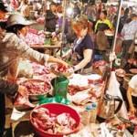 Sức khỏe đời sống - Thịt ôi, cá chết chảy về nhà hàng, quán cơm