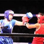 Thể thao - Nữ võ sĩ đổ máu ngày khai màn giải võ Việt