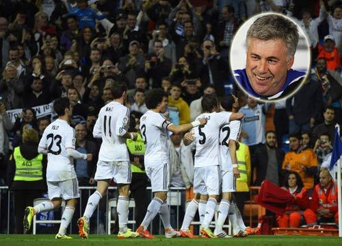 Real vượt Barca, Ancelotti mừng khôn tả - 1