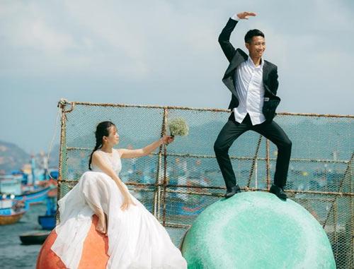 """Ảnh cưới của cặp đôi VN khiến giới trẻ Hàn """"thèm"""" - 5"""