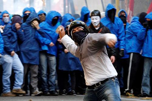 Italia: Rome tê liệt vì biểu tình chống chính phủ - 3