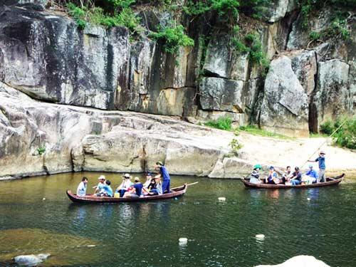 Thiên nhiên kì ảo trên dòng sông Hầm Hô, Bình Định - 13