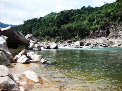 Thiên nhiên kì ảo trên dòng sông Hầm Hô, Bình Định - 8