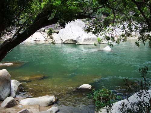 Thiên nhiên kì ảo trên dòng sông Hầm Hô, Bình Định - 7