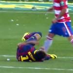 Bóng đá - Video: Neymar ăn vạ bất thành