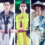 Thời trang - Mãn nhãn ngắm thiết kế áo dài tại Festival Huế