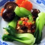 Ẩm thực - Nấm đông cô cải thìa xốt rau củ