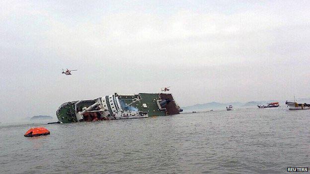 Hàn Quốc: Đắm phà giữa biển, 450 người cầu cứu - 1
