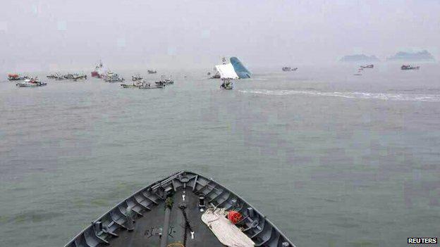 Hàn Quốc: Đắm phà giữa biển, 450 người cầu cứu - 2