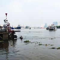Nước sông Sài Gòn đạt đỉnh trên báo động 1