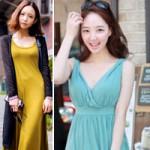 Thời trang - Váy maxi thách thức mùa nắng