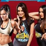 """Thể thao - Những bóng hồng """"đốt mắt"""" sàn đấu WWE"""