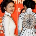 Phim - Vân Trang diện áo dài lạ mắt trên đất Hàn