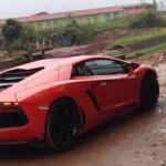Tin tức ô tô - xe máy - Lamborghini Aventador màu cam bất ngờ về Quảng Ninh