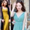 Váy maxi thách thức mùa nắng