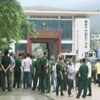 Nhóm người TQ xả súng tại cửa khẩu Bắc Phong Sinh