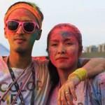 Phim - Vợ chồng Hà Tăng lấm lem bột màu