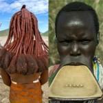 Làm đẹp - Tròn mắt với 2 kiểu làm đẹp của phụ nữ Phi