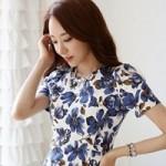 Thời trang - Nữ công sở đừng từ chối váy hoa