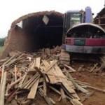 Tin tức trong ngày - Hà Nội: Sập lò gạch thủ công, một người tử vong