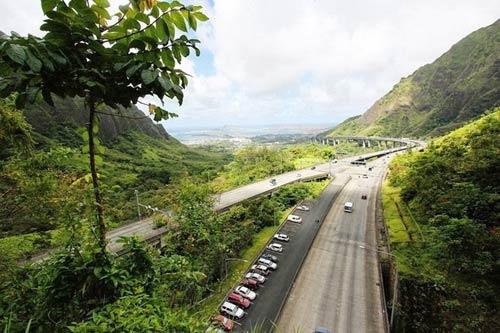Ngắm con đường cao tốc ngoạn mục ở Hawaii - 4