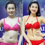 Thời trang - Thí sinh Hoa hậu Đại Dương lộ vòng eo ngấn mỡ
