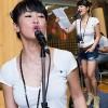 Hồng Nhung trẻ trung tập hát Rock