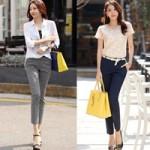 Thời trang - Quần vải: Lựa chọn tối ưu cho công sở mùa hè