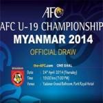 """Bóng đá - Bốc thăm VCK U19 Châu Á: U19 VN vào bảng """"tử thần"""""""