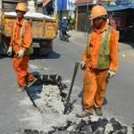 Tin tức trong ngày - TPHCM: Mặt đường sụt lún bất thường