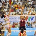 """Thể thao - """"Chân dài"""" bóng chuyền chuẩn bị cho giải VĐQG 2014"""